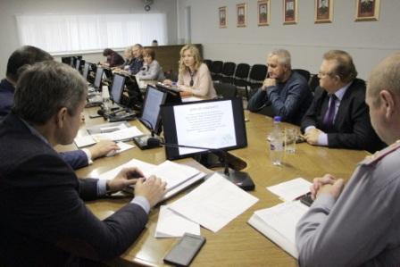 ЗАСЕДАНИЕ ОБЩЕСТВЕННОГО СОВЕТА ПРИ ГУФСИН РОССИИ ПО ИРКУТСКОЙ ОБЛАСТИ